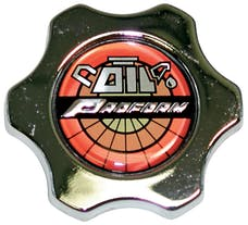 Proform 66632 Oil Filler Cap; Chrome; Deluxe Twist-On Style; Fits Most GM and Chrysler Engines