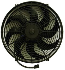 Proform 67027 Electric Radiator Fan; Universal High Perf. S-Blade Model; 16 Inch; 2100CFM