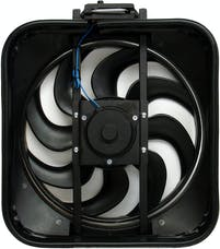 Proform 67029 S-Blade Radiator Fan; High Performance Model with Thermostat; 15 In; 2800CFM