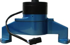 Proform 68230B Electric Engine Water Pump; Aluminum; Blue Powder Coat; Fits BB Chevy Engines