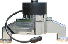 Proform 68230C Electric Engine Water Pump; Aluminum; Chrome Finish; Fits BB Chevy Engines