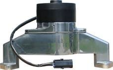 Proform 68230P Electric Engine Water Pump; Aluminum; Polished Finish; Fits BB Chevy Engines