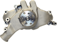 Proform 68241 Engine Water Pump; Mechanical Long Style; High Flow Model; Satin; BB Chevy