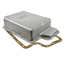 B&M 40295 CAST PAN DEEP W/TORQ SHIFT&6.0PS DI