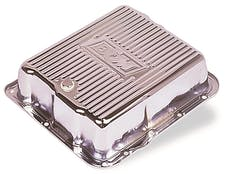 B&M 70289 CHROME DEEP PAN TH700R4