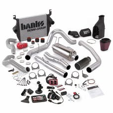 Banks Power 46626-B Big Hoss Bundle; Single Exh; S/S-Black Tip-2003-04 Ford 6.0L; ECLB