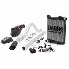 Banks Power 46657-B Big Hoss Bundle; Single Exh; S/S-Black Tip-2008-10 Ford 6.4L; All W/B