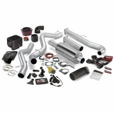 Banks Power 47702-B Six-Gun Bundle; Single Exh; S/S-Black Tip-2001-04 Chevy 6.6L LB7; EC/CC-LB