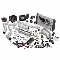 Banks Power 47720-B Big Hoss Bundle; Single Exh; S/S-Black Tip-2002-04 Chevy 6.6L LB7; EC/CC-LB