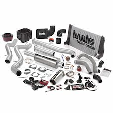 Banks Power 47722 Big Hoss Bundle; Single Exh; S/S-Chrome Tip-2002-04 Chevy 6.6L LB7; EC/CC-SB