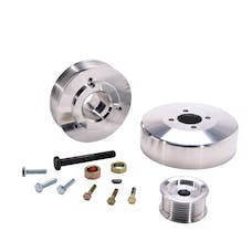 BBK Performance Parts 15550 Power-Plus Series Underdrive Pulley System