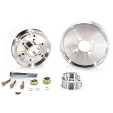 BBK Performance Parts 1559 April 01-04 FORD MUSTANG GT/2000-02 COBRA 4.6L 3 PC UNDERDRIVE PULLEY KIT (ALUMI