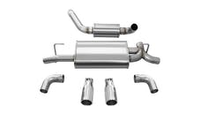 Corsa Performance 21016 Touring Axle-Back Exhaust System