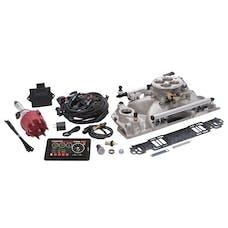 Edelbrock 35770 Pro Flo 4 Fuel Injection Kit, Satin Finish