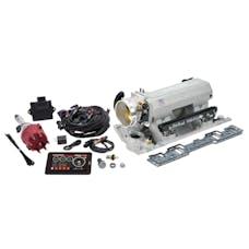 Edelbrock 35820 Pro Flo 4 Fuel Injection Kit, Satin Finish