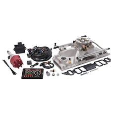 Edelbrock 35860 PRO FLO 4 FUEL INJECTION KIT BBC RECT PORT STD DECK 950 MAX HP