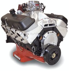 Edelbrock 49550 CRATE ENGINE EDEL/PAT MUSI 555 RPM XT BBC 675 HP CARBURETED