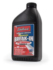 Edelbrock 1070 OIL BREAK IN SAE 30 PREMIUM (SINGLE)