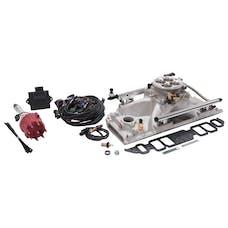 Edelbrock 358500 Pro Flo 4 Fuel Injection Kit, Satin Finish without Tablet