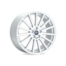 Ford Racing M-1007-R1985W WHEEL FOCUS RS WHITE