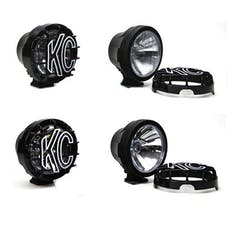 Ford Racing M-15200-6HIDB 6in. BLACK HID LIGHTS; SET OF FOUR