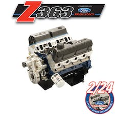 Ford Racing M-6007-Z363RT CRATE ENGINE 363 Z-HEAD IRON BLOCK-REAR SUMP