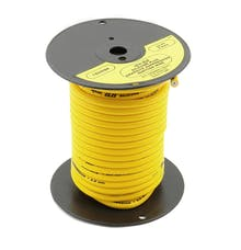 ACCEL 160096M Spark Plug Wire Roll, Spiral Core, 8.8mm Yellow