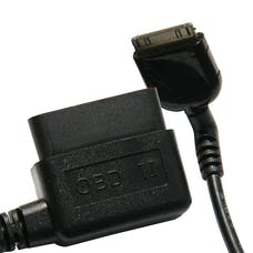 DiabloSport T1025 OLD STYLE INTUNE/TRINITY RIGHT ANGLE OBD-II CONNECTOR