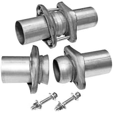 Flowmaster 15938 Header Collector Ball Flange Kit-2.50 in. to 2.50 in.-Pair-requires welding