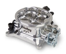 Holley EFI 112-588 MPFI THROTTLE BODY-POLISHED