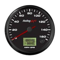 Holley EFI 553-123 3-3/8 SPEEDOMETER; 0-160 MPH; GPS; BLACK