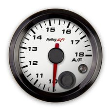 Holley EFI 553-132W 2-1/16 AFR RIGHT GAUGE; 10-18; CAN; WHITE