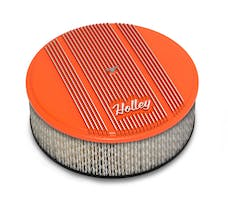 Holley 120-128 Holley Air Cleaner, Finned