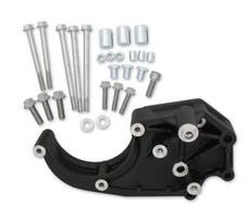 Holley 20-134BK LS A/C Accessory Drive Bracket, Passenger Side Only