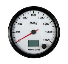 Holley 26-610W 4-1/2 Holley 160 Gps Speedo-White