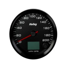 Holley 26-613 3-3/8 Holley 200 Gps Speedo-Black