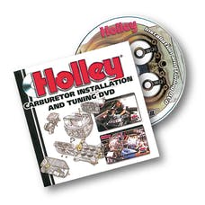 Holley 36-378 Holley Carburetor Installation DVD