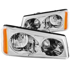 AnzoUSA 111010 Crystal Headlights Chrome