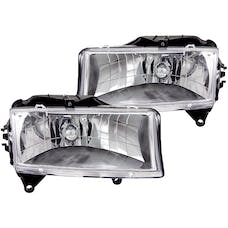 AnzoUSA 111021 Crystal Headlights Chrome