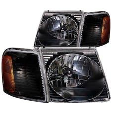 AnzoUSA 111041 Crystal Headlights