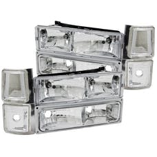 AnzoUSA 111099 Crystal Headlights