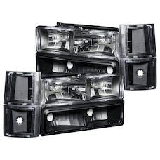 AnzoUSA 111100 Crystal Headlights