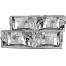 AnzoUSA 111136 Crystal Headlights