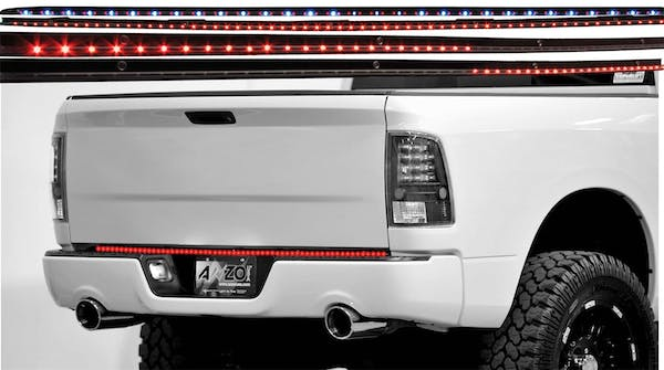 """AnzoUSA 531005 LED Tailgate Bar with Reverse, 49"""" 5 Function"""
