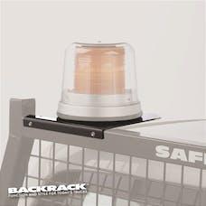 """BACKRACK 81004 Light Bracket 6-1/2"""" Base Safety Rack, Louvered, Insert P/D"""