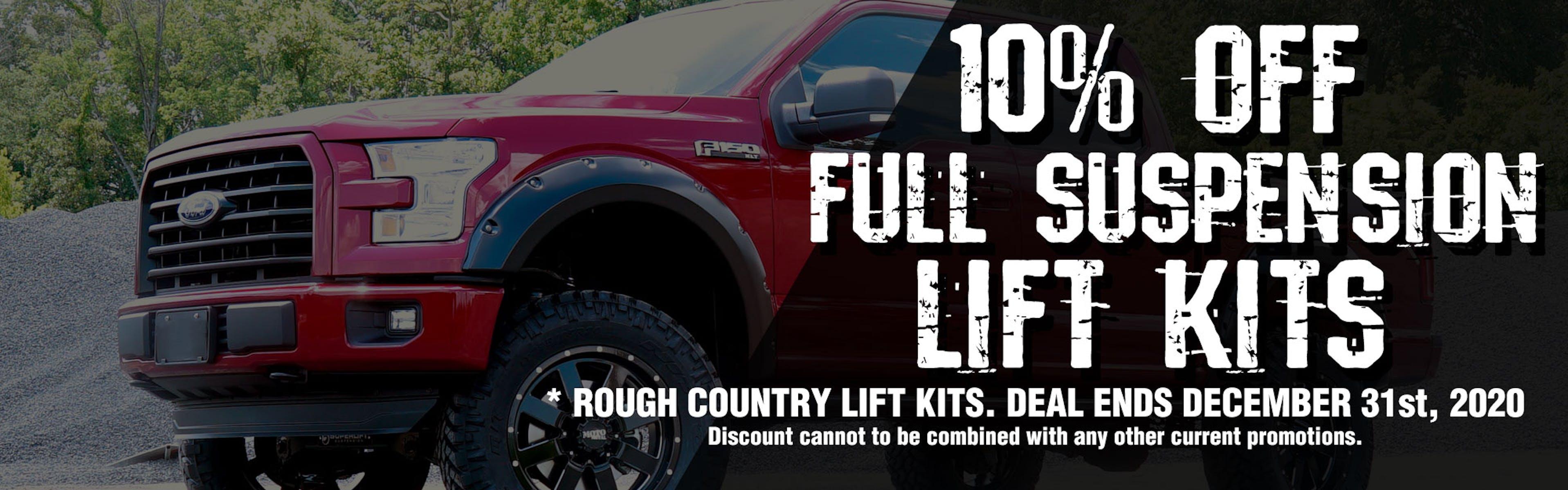 10% Off RC Lift Kits