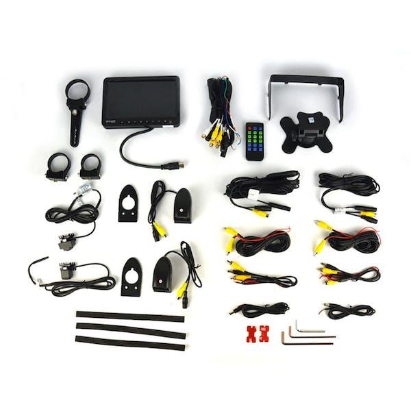 Brandmotion SUTV-1040 UTV/Rockcrawler Quad Camera and Quad View DVR Monitor