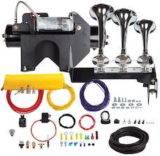 Kleinn Automotive Air Horns HDKIT-630 Bolt-on Train horn System for 2014-2015 GM 2500/3500 HD Trucks