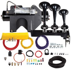 Kleinn Automotive Air Horns HDKIT-234 Bolt-on Ultimate Train horn System for 2014-2015 GM 2500/3500 HD Trucks