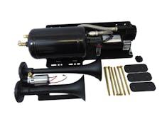 Kleinn Automotive Air Horns JEEPKIT-1 Trail Blaster™ bolt-on air horn kit for Jeep JK w/custom-fit mounting brackets